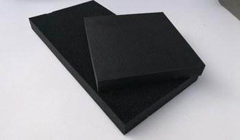 黑色高密度海绵
