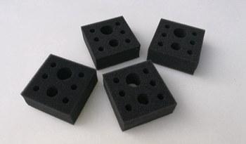 黑色药品包装海绵